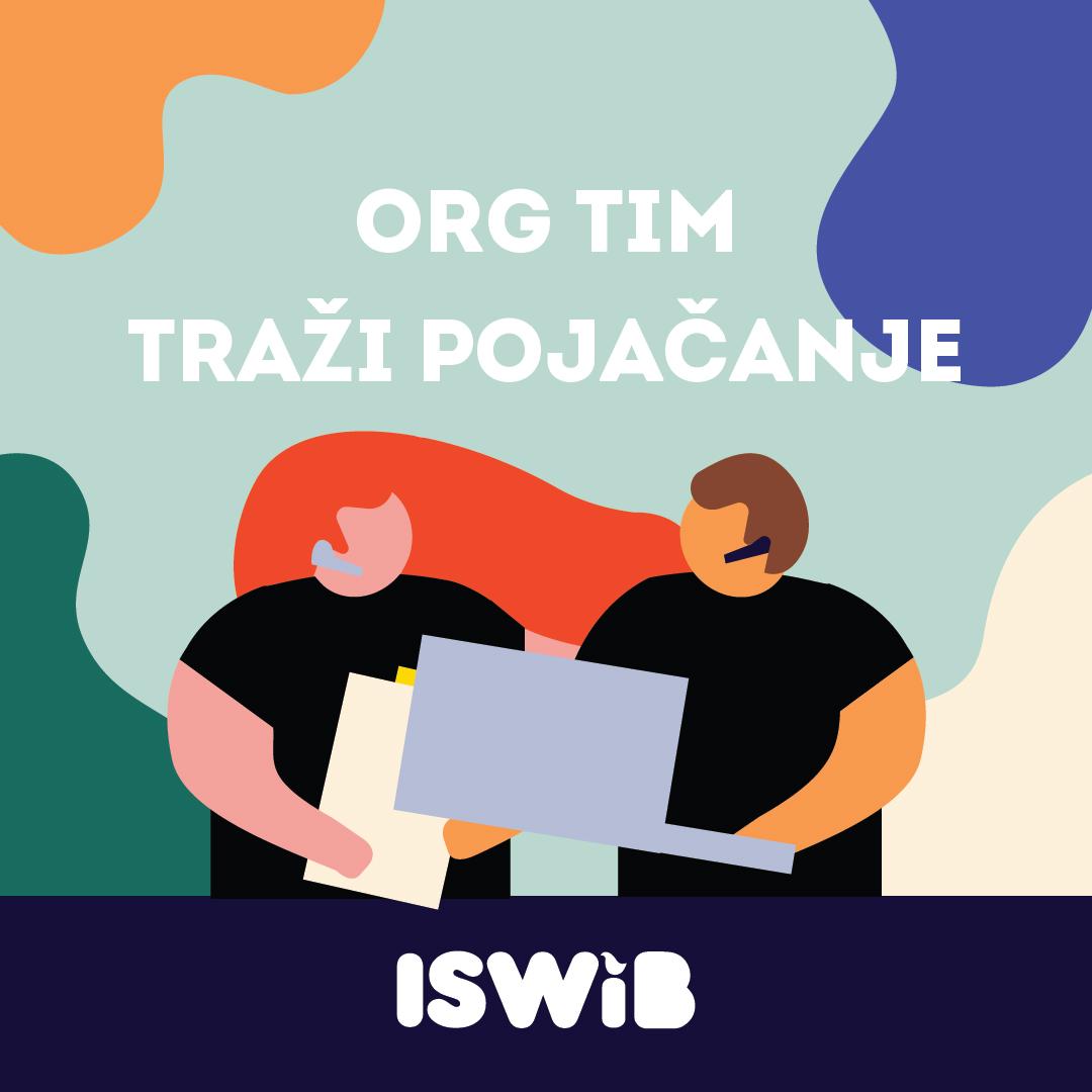 Otvorene Prijave Za Organizacioni Tim 14. ISWiB-a